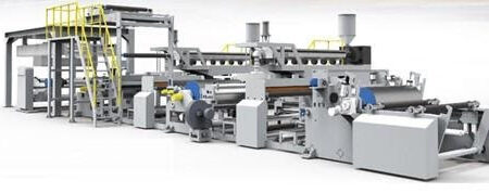 JD EXTRUSION COATING LAMINATING MACHINE