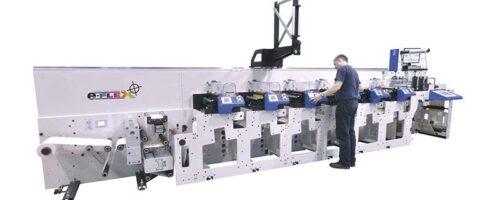 LABEM PRINTING AND FINISHING MACHINE